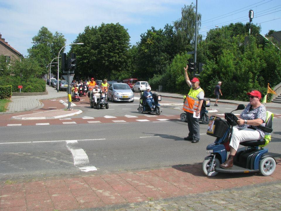 stokvisrijders, deventer, verkeersregelaars