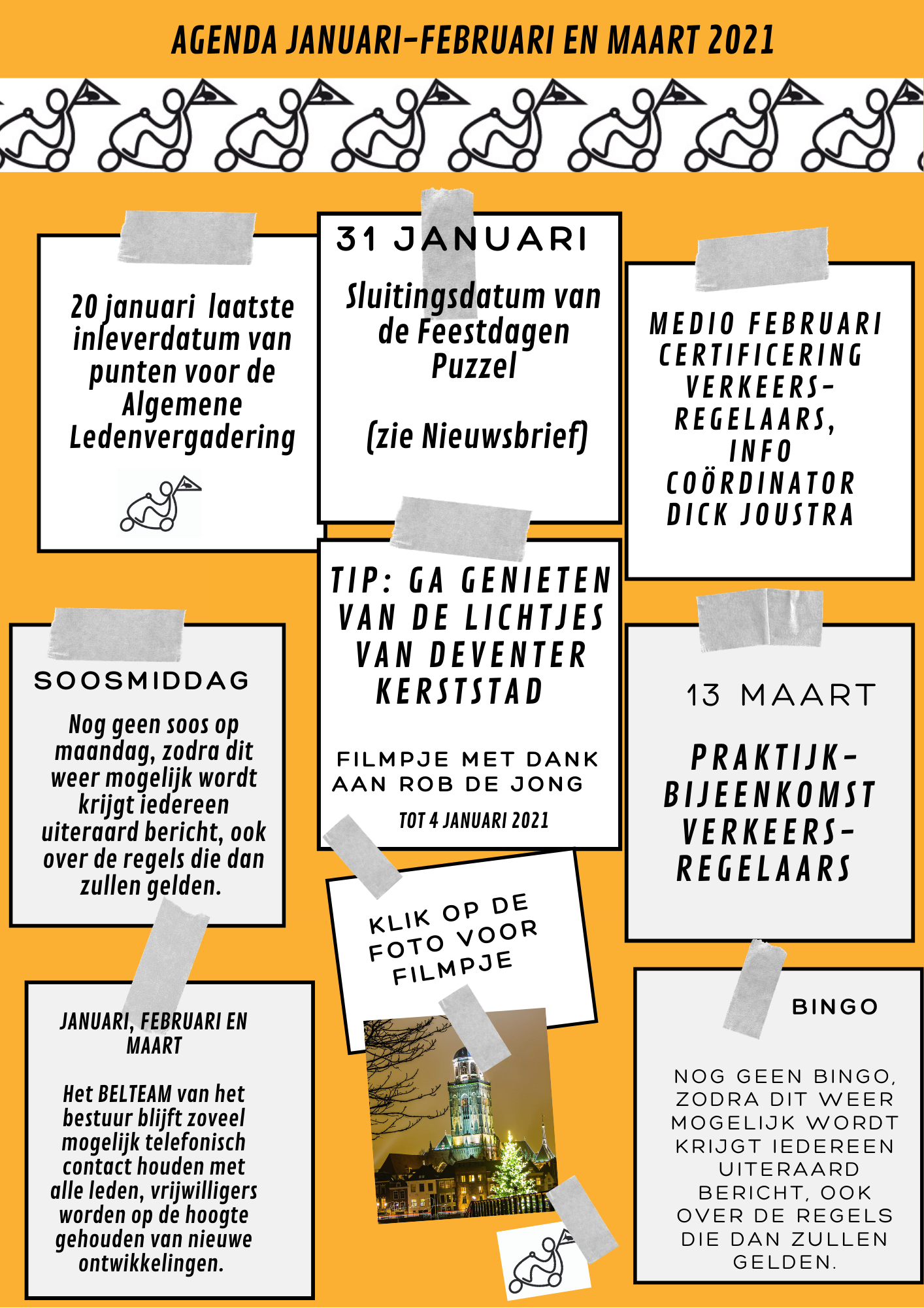 Rob de Jong, Deventer, binnenstad